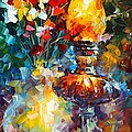Flame by Leonid Afremov