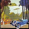 Fleuves De La Galice Automobile by Vintage Automobile Ads and Posters
