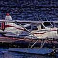 Float Plane Dock by Timothy Latta