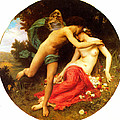 Flora And Zephyr by William-Adolphe Bouguereau