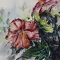 Flowers In My Backyard by Wipha Risser
