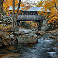 Flume Gorge Covered Bridge by Jeff Folger