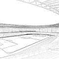 Football Soccer Stadium by Nenad Cerovic