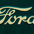 Ford Emblem by Jill Reger