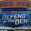 Ford Field by Frozen in Time Fine Art Photography
