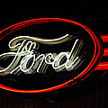 Ford Neon Sign by Jill Reger