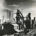 Ford's River Rouge Plant by Underwood Archives