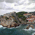 Fort Lovrijenac - Dubrovnik - Croatia by Madeline Ellis