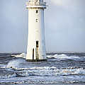 Fort Perch Lighthouse by Spikey Mouse Photography