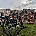 Fort Pike Cannon by Andy Crawford