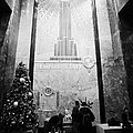 Foyer Of The Empire State Building New York City Usa by Joe Fox