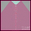 Fractal 28 Pink Gingham Shirt by Rose Santuci-Sofranko