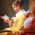 Fragonard's Young Girl Reading by Cora Wandel