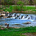 Framed Falls by Frozen in Time Fine Art Photography