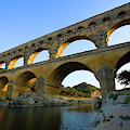 France, Avignon The Pont Du Gard Roman by Jaynes Gallery