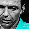 Frank Sinatra Art by Marvin Blaine