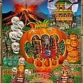Freaky Tiki Tombs by Glenn Holbrook
