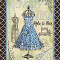 French Dress Shop-b1 by Jean Plout