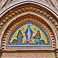 Fresco In Front Of Saint Anthony's Church In Istanbul-turkey  by Ruth Hager