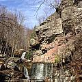 Fresh Water Streams Around Poconos Pa America Usa  by Navin Joshi