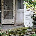 Front Door Of Abandoned House by Jill Battaglia
