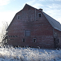 Frosty Barn by Bonfire Photography