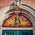 Fruit Door Covering by William Krumpelman
