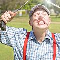 Funny Golf by Jorgo Photography - Wall Art Gallery