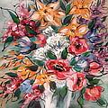 Garden Flowers by Natalie Holland