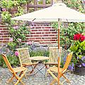 Garden Seating Area by Sophie McAulay