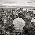 Gatklettur Arch In Hellnar by For Ninety One Days