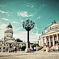 Gendarmenmarkt In Berlin Germany by Michal Bednarek