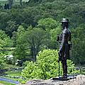 General Warren At Little Round Top by John Greim