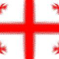 Georgian Flag by Lali Kacharava