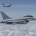German Eurofighter Typhoon Jets by Timm Ziegenthaler