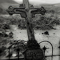 Ghost Town Cross by Sonja Quintero