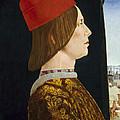 Giovanni II Bentivoglio by Ercole de Roberti