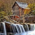 Glade Creek Grist Mill by Adam Jewell