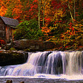 Glade Creek Grist Mill by Chris Flees