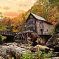Glade Creek Grist Mill by Lj Lambert