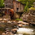 Glade Creek Grist Mill by Michael Blanchette