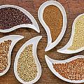 Gluten Free Grain Abstract by Marek Uliasz