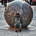 Gnome Statue Wroclaw Poland by Frank Bach