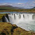 Godafoss Waterfall by Patricia Hofmeester