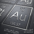 Gold Chemical Element by Science Picture Co