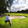 Golf Course by Jorgo Photography - Wall Art Gallery