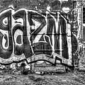 Graffiti Door by Purple Moon