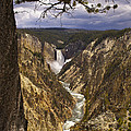 Grand Canyon Of The Yellowstone by J L Woody Wooden