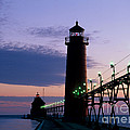 Grand Haven Lighthouse by David Davis