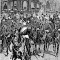 Grant Funeral, 1885 by Granger